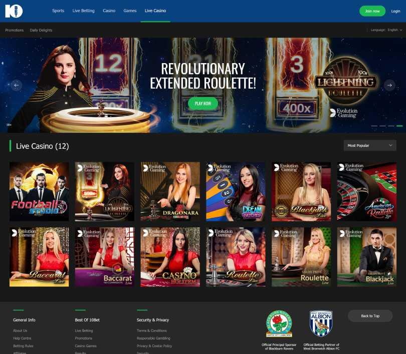 كازينو 10بت - Online Casino