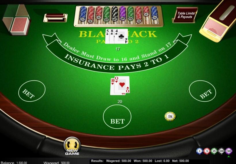 الكازينو العربي - Casino-X - بلاك جاك